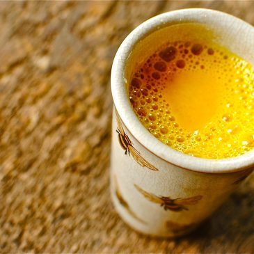 Golden Milk Recipe with Fresh Turmeric & Coconut Milk